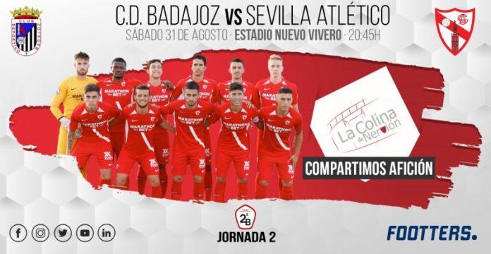 El Sevilla Atlético, a Badajoz en busca de la primera victoria