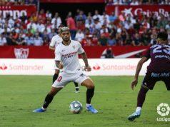 Banega, durante el Sevilla - Celta de Vigo  Imagen: La Liga