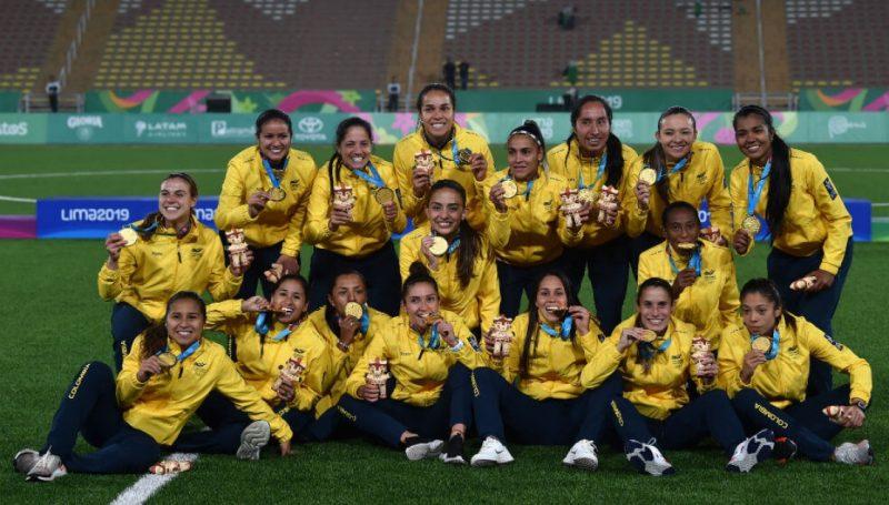 Colombia se llevó el oro en los Panamericanos | Imagen: Sevilla FC
