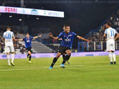 Luis Muriel, celebrando uno de sus goles con el Atalanta   Imagen: Atalanta BC