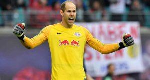 Peter Gulacsi, durante un partido del RB Leipzig | Imagen: Agencias