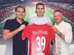Wöber, presentado con el RB Salzburgo | Imagen: RB Salzburgo