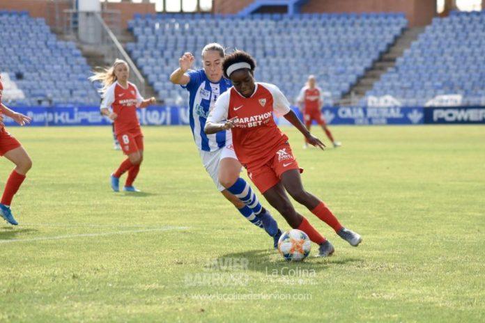 El Sevilla Femenino cede los puntos frente al Sporting Huelva
