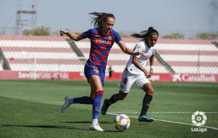 El Sevilla Femenino no pudo ante un Barcelona líder