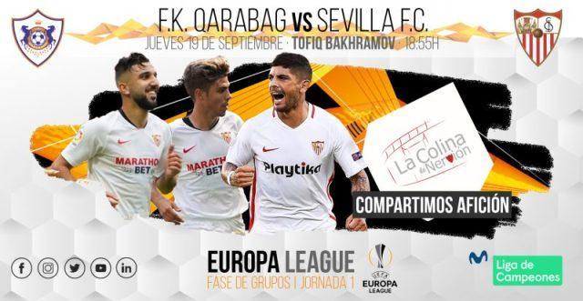 Previa del partido entre Qarabag y Sevilla FC   Imagen: La Colina de Nervión