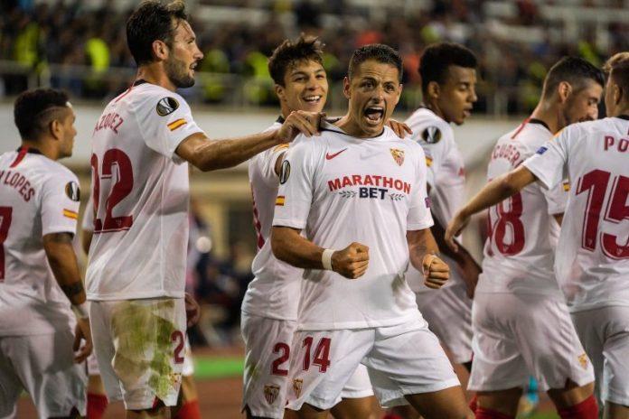 Tres golazos al Qarabag abren el camino del Sevilla en la Europa League