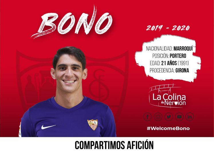 Bono, nuevo portero del Sevilla