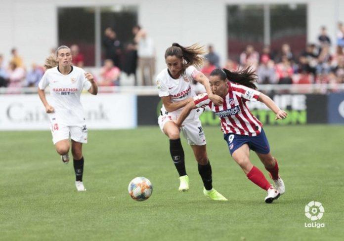 El Sevilla cae en su visita al Atlético de Madrid
