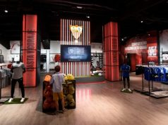 Imagen de la nueva tienda oficial del Sevilla, en la ciudad deportiva |Imagen: Sevilla FC