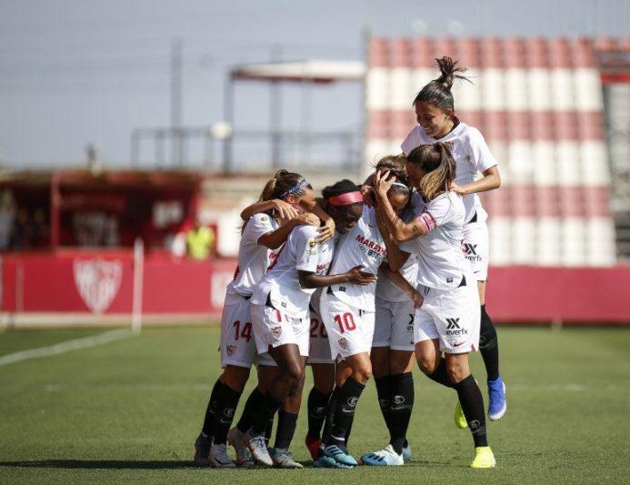 Comienzo de temporada inmejorable para el Sevilla Femenino ante la UD Granadilla Tenerife