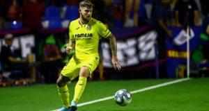 Alberto Moreno, durante un partido con el Villarreal   Imagen: MARCA