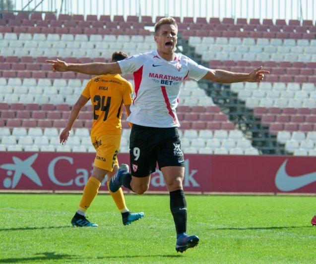 La goleada del Sevilla Atlético al UCAM Murcia, en vídeo