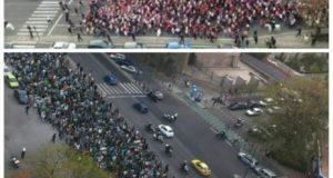 Incidente entre radicales de Betis y Sevilla || Imagen: @MundoUltraF