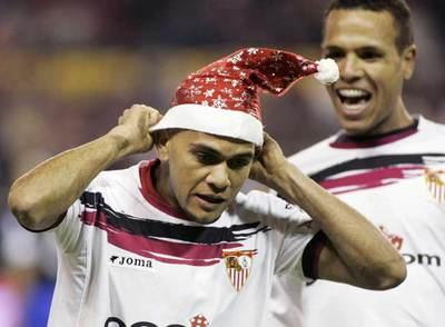 Dani Alves y su gol navideño hace 13 años