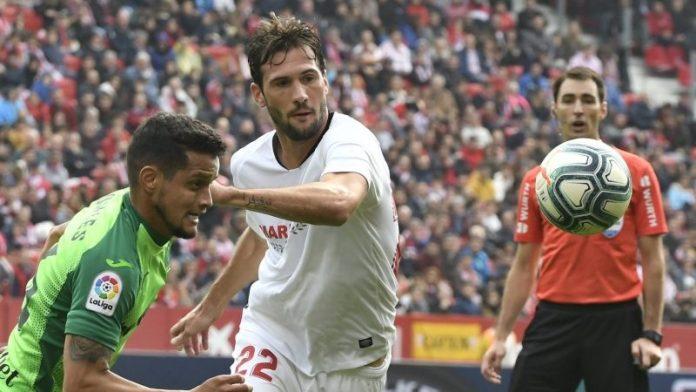 El Sevilla se lleva los tres puntos ante el Leganés por la mínima y sin brillo