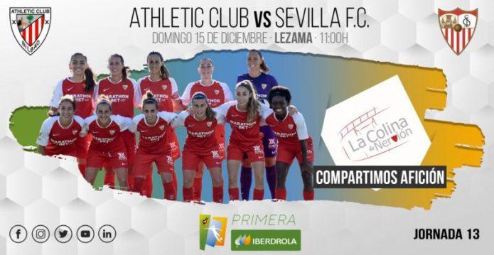 Doble reto para el Sevilla Femenino en Lezama