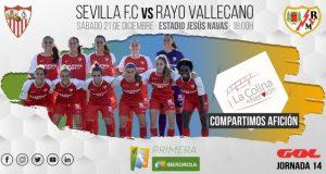 Foto previa Sevilla FC - Rayo Vallecano, Primera Iberdrola | La Colina de Nervión