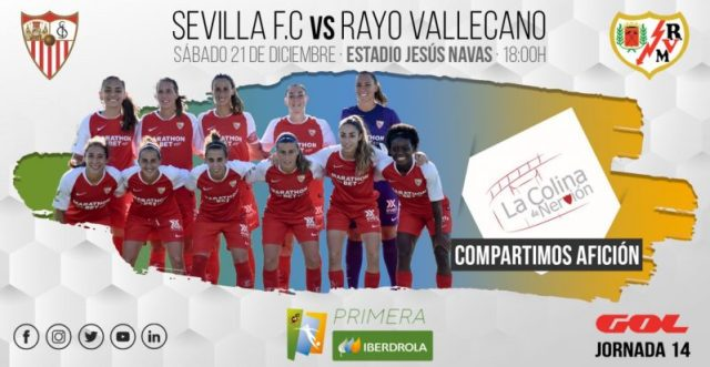 Foto previa Sevilla FC - Rayo Vallecano, Primera Iberdrola   La Colina de Nervión