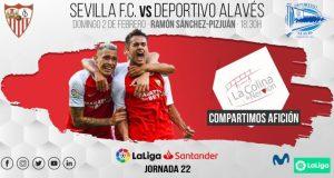 Previa del partido entre el Sevilla FC y Deportivo Alavés