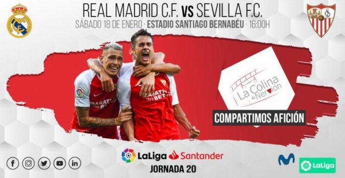 El Sevilla visita al Madrid en el Bernabéu con las pilas cargadas
