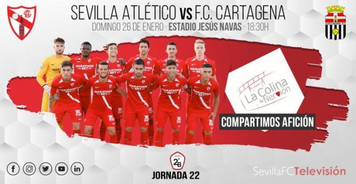 El Sevilla Atlético recibe al Cartagena con la necesidad de sumar