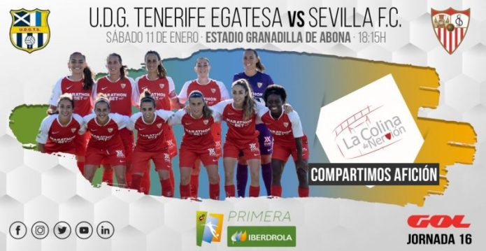 El Sevilla FC Femenino, a Tenerife en busca de la primera victoria del año