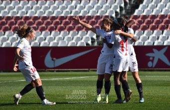 Las futbolistas del Sevilla FC celebran un gol ante el Atlético de Madrid   Javier Barroso, LCDN