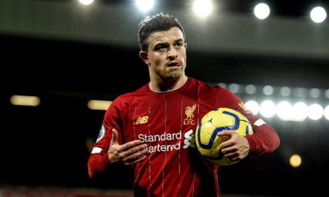 Xherdan Shaqiri, jugador del Liverpool, posible fichaje del Sevilla FC | Imagen: Liverpool FC