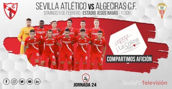 El Sevilla Atlético, a por la tercera victoria en el Jesús Navas
