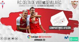 revia del encuentro entre Celta de Vigo y Sevilla FC