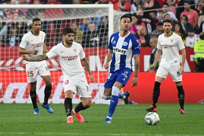 Un Sevilla sin acierto empata a nada ante el Alavés