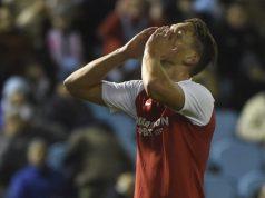 Luuk De Jong, durante el partido del Sevilla FC en Vigo | Imagen: MIGUEL RIOPA / AFP via Getty Images