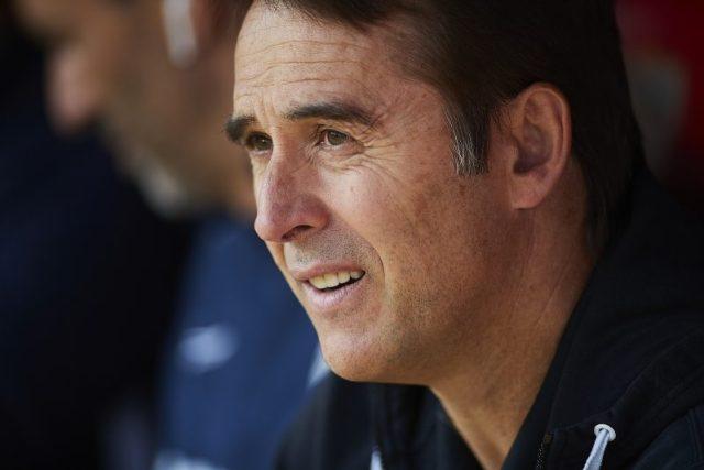 Julen Lopetegui, entrenador del Sevilla FC, durante el partido ante el Espanyol  Imagen: Fran Santiago - Getty Images