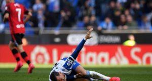 Raúl de Tomás no estará ante el Sevilla FC | Imagen: Alex Caparros -Getty Images