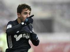 Maxime López durante un encuentro con el Olympique de Marsella. | Imagen: AFP