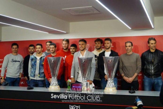 FOTOGALERÍA | La despedida de Daniel Carriço del Sevilla FC