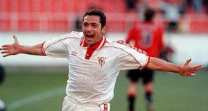 Gabriel Moya, durante un partido con el Sevilla FC | Imagen: Sevilla FC