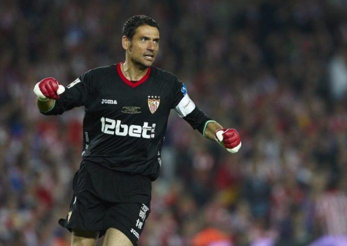 Andrés Palop, uno de los integrantes de nuestro once histórico del Sevilla FC |Imagen: Manuel Queimadelos Alonso vía Getty Images