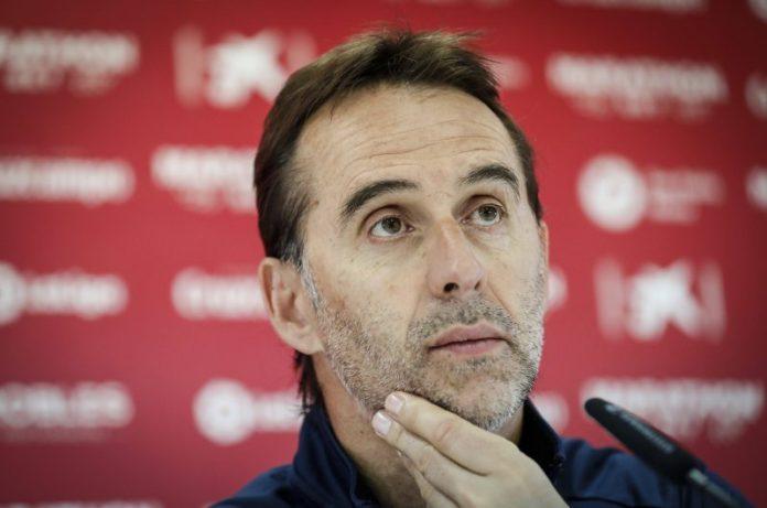 Julen Lopetegui: «Tengo plena confianza en Monchi»