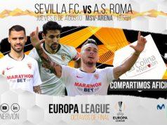 sevilla europa league fútbol club fc noticias as roma