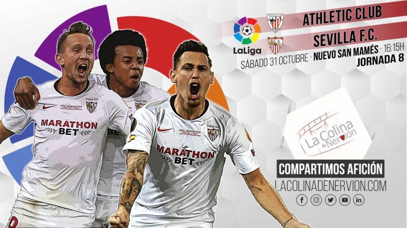 Previa del encuentro entre el Athletic Club y el Sevilla FC