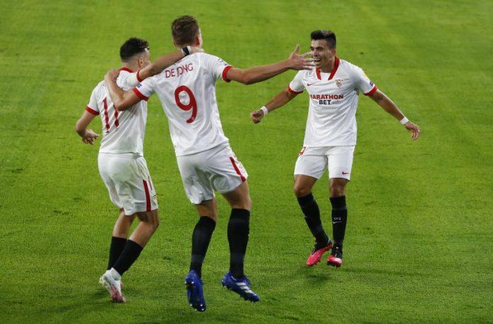 De Jong da la primera victoria al Sevilla FC frente al Rennes