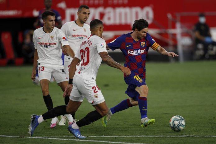Así llegaba el FC Barcelona al Ramón Sánchez-Pizjuán