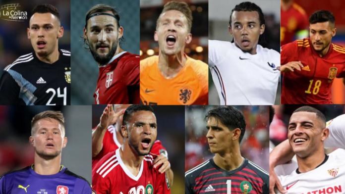 La agenda de los nueve internacionales del Sevilla FC