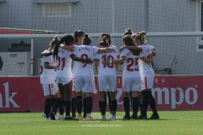 La goleada del Sevilla Femenino al Sporting de Huelva, en fotos