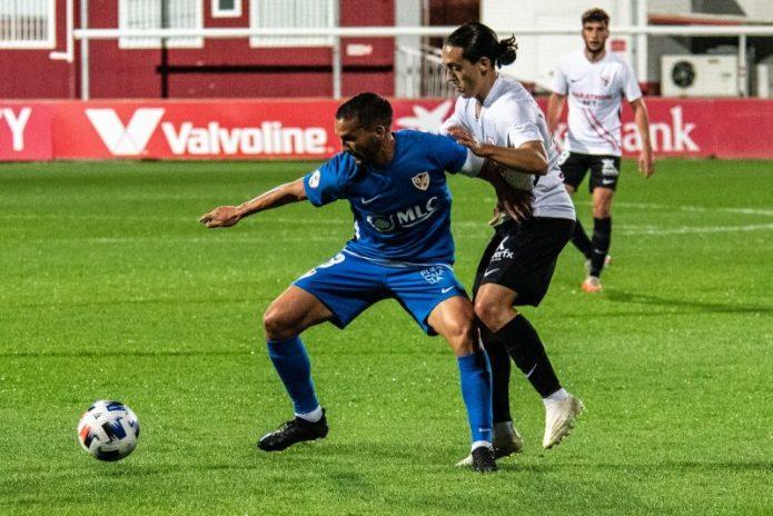 El Sevilla Atlético, goleado en el partido ante el Linares Deportivo