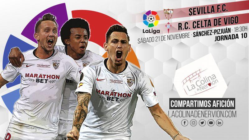 Previa del encuentro entre el Sevilla FC y el Real Club Celta de Vigo