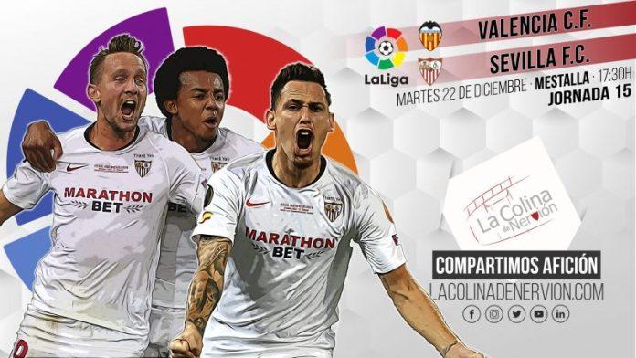 El Sevilla FC visita Mestalla obligado a dar su mejor cara