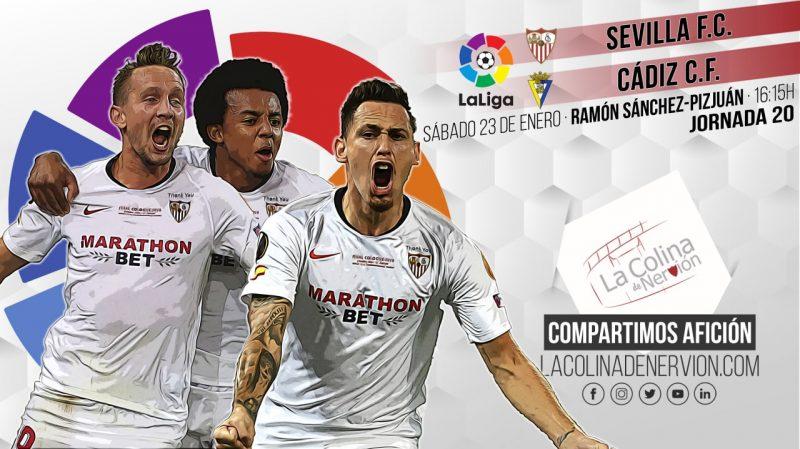 Previa del partido entre Sevilla FC y Cádiz CF
