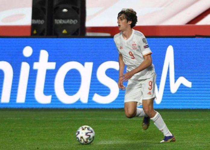 Bryan Gil Selección Española
